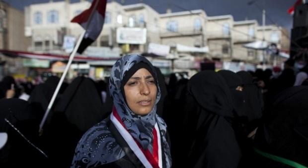 توکل کرمان مبارز یمنی و برنده جایزه نوبل