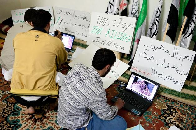 فعالیت اینترنتی شورشیان سوری زیر ذرهبین ایران و سوریه