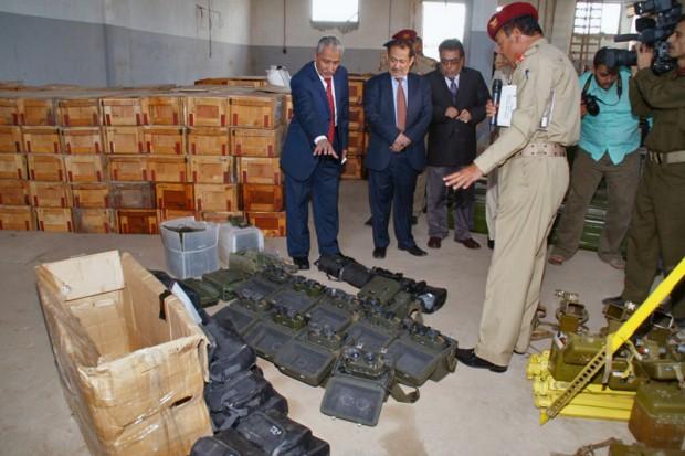 سلاح های ایرانی، مقصدی نامعلوم