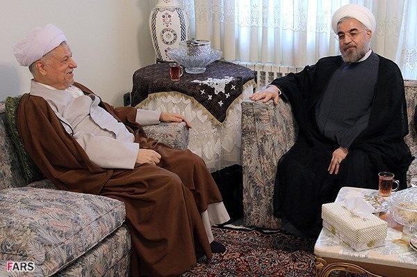 روحانی با رفسنجانی، عارف و خاتمی دیدار کرد