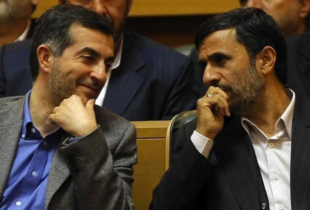 سکوت قابل تأمل احمدی نژاد و مشایی بعد از انتخابات