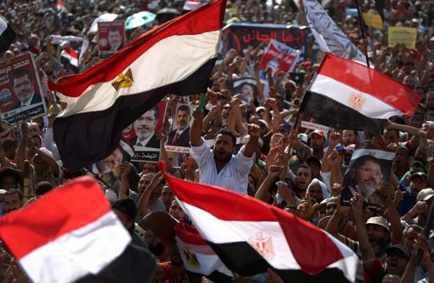 حمایت قدرت های غربی از روند انتقال قدرت در مصر
