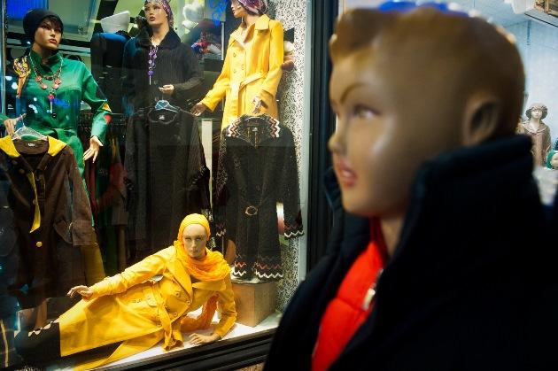 مانکن های ایرانی «تولید تا نمایش در ویترینها»