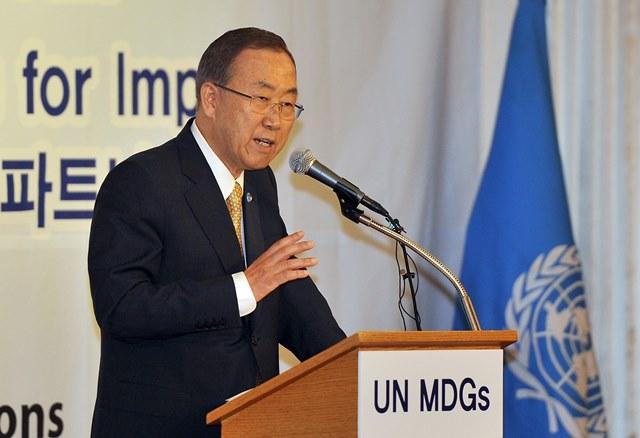 دبیرکل سازمان ملل گفت: مقدمات اجلاس ژنو ۲ فراهم شده است