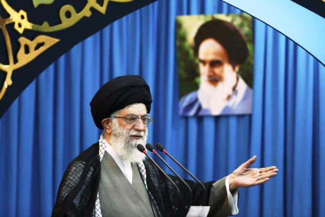 رهبر جمهوری اسلامی ایران با گفتگوهای اسرائیل و فلسطینی ها مخالفت کرد