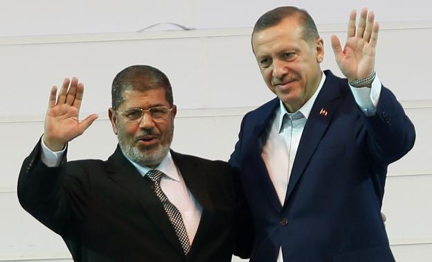 همدردی اردوغان با مرسی