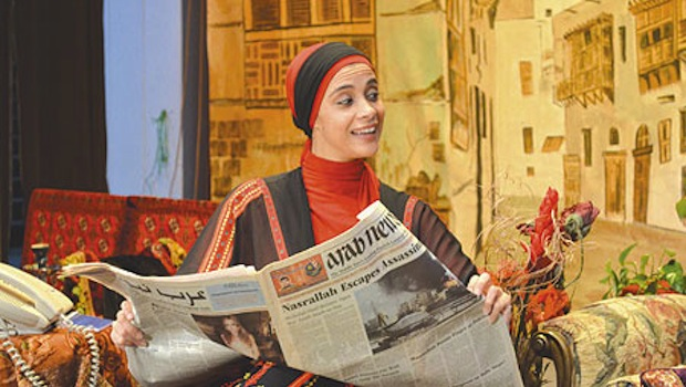 اولین بانوی سعودی در جشنواره ادینبرو روی صحنه می رود