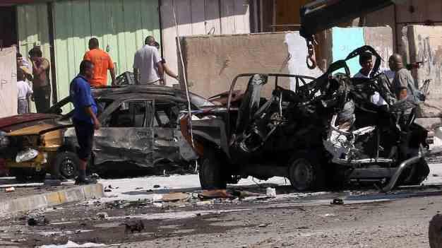 انفجارهای زنجیره ای بغداد را لرزاند