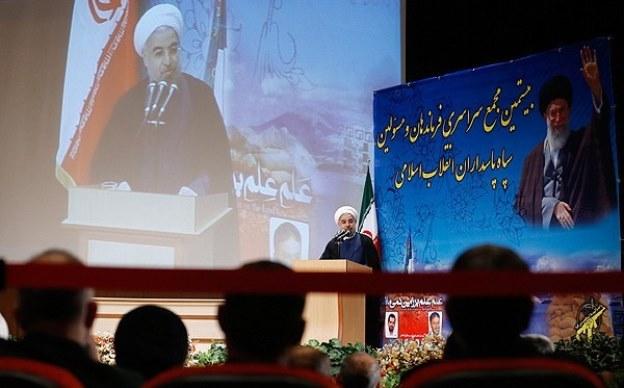 روحانی: سپاه سیاست را درک کند اما وارد نشود