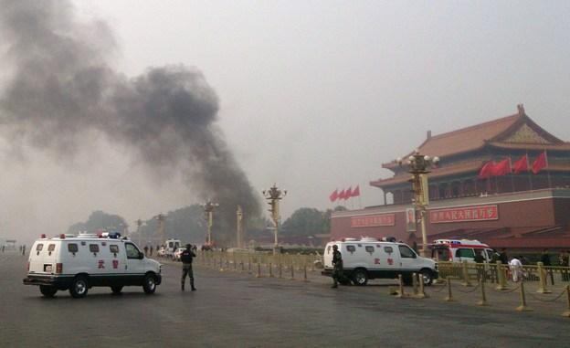 کشته شدن ۵ نفر در عملیات ترویستی میدان «تیان آن من» چین