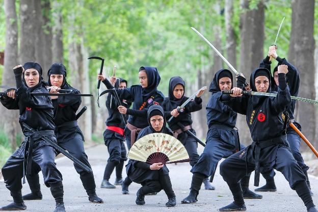زنان نینجا در ایران