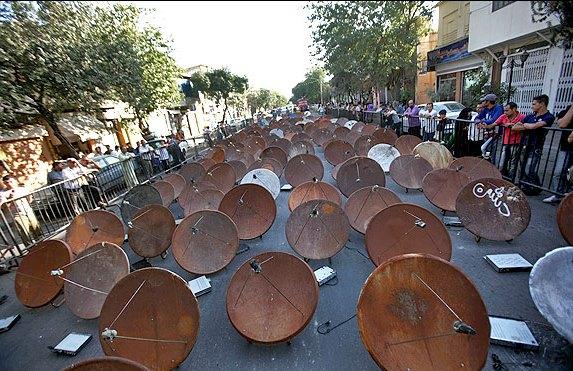 """""""گسترش شبکه های تلویزیونی در ایران؛ سیاستی برای رقابت با ماهواره ها"""""""