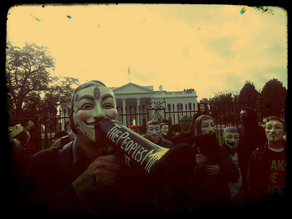 راهپیمایی جهانی ماسکهای Anonymous + تصاویر