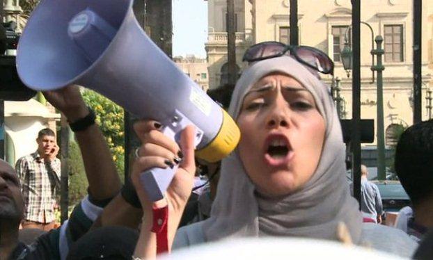 اعتراض به قانون محدودیت تظاهرات در مصر