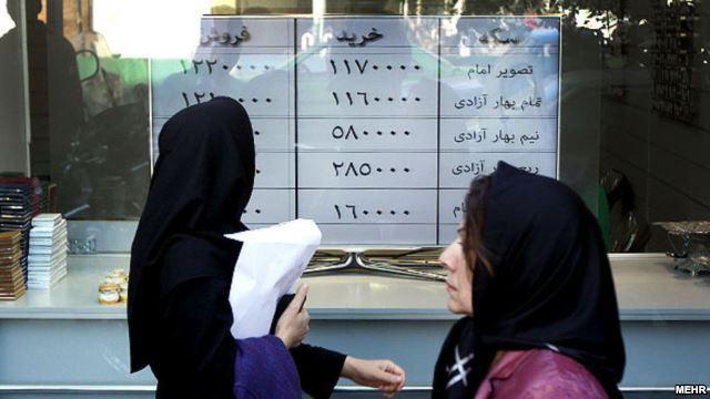 قیمت دلار و سکه در ایران پس از امضای توافق ژنو کاهش یافت
