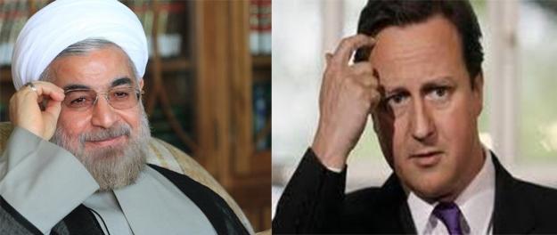 تماس نخستوزیر بریتانیا و رئیسجمهوری ایران