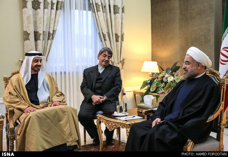 ایران و امارات متحده عربی؛ تلاش بر بهبود روابط دو جانبه