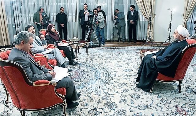 گزارش تلویزیونی روحانی، محاکمه احمدی نژاد