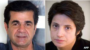 مقامات ایران از ملاقات هیات پارلمانی اروپا با ستوده و پناهی انتقاد کردند