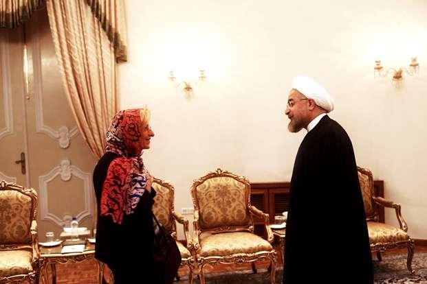 روحانی: «روابط با ایتالیا را در همه سطوح دنبال می کنیم»