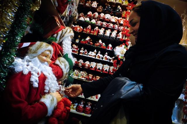 جلوه های رنگارنگ کریسمس در تهران