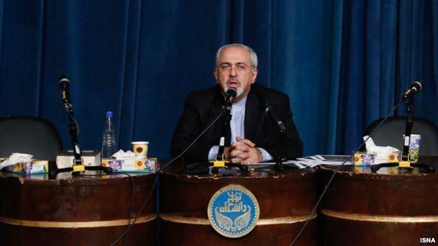 دفاع ظریف از سخنانش درباره توان نظامی ضعیف ایران در مقابله با آمریکا