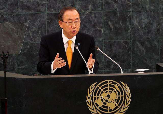 دبیر کل سازمان ملل خواستار حضور ایران در نشست ژنو ۲ شد