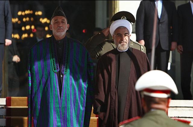 دیدار کرزی از تهران در سایه اختلافات بر سر توافق امنیتی کابل – واشنگتن
