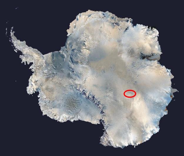 سردترین نقطه زمین ثبت شد