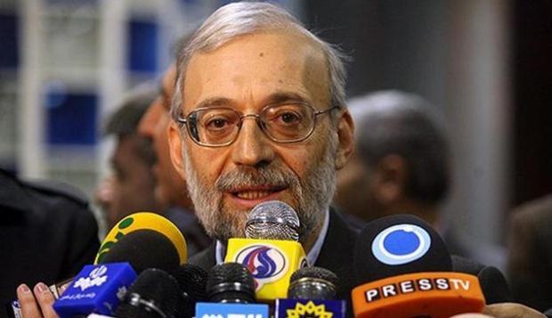 لاریجانی: تاخیر رسیدگی پرونده موسوی و کروبی به دلیل سوابق خوبشان بوده