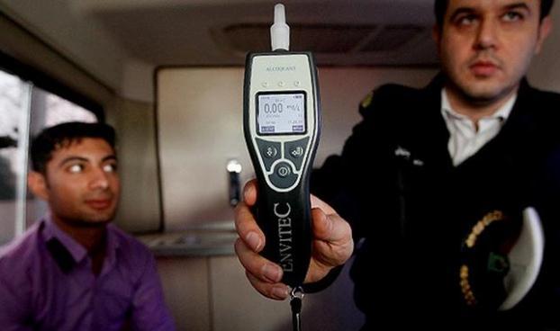 مثبت بودن ۵۰ درصدی تست الکل و مخدر از رانندگان تهرانی