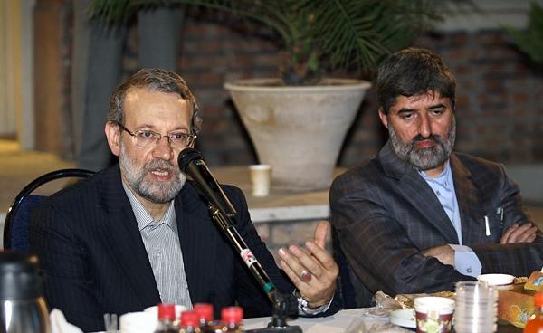 واکنش علی لاریجانی به انتقاد مطهری