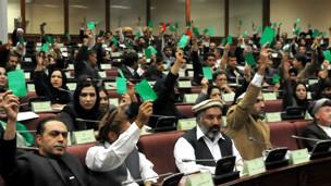بودجه سال ۱۳۹۳ افغانستان تصویب شد