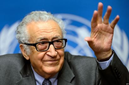 اخضر ابراهیمی: دور بعدی مذاکرات صلح سوریه، روز ۲۱ بهمن