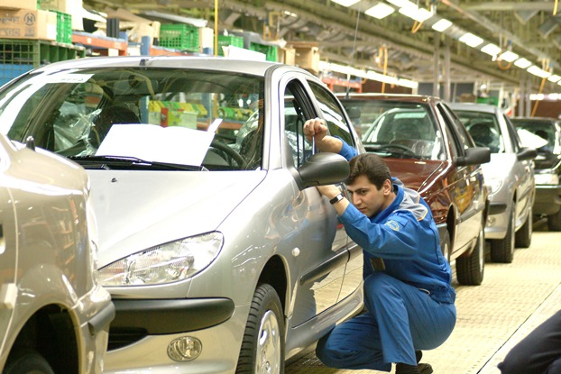 وضعیت صنعت خودرو در ایران