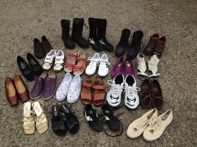 کفش دست دوم نخرید
