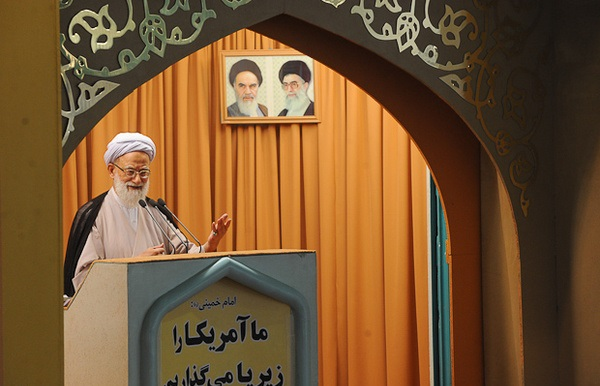 امام جمعه تهران: مواضع وزارت خارجه مواضع ملت و رهبری است