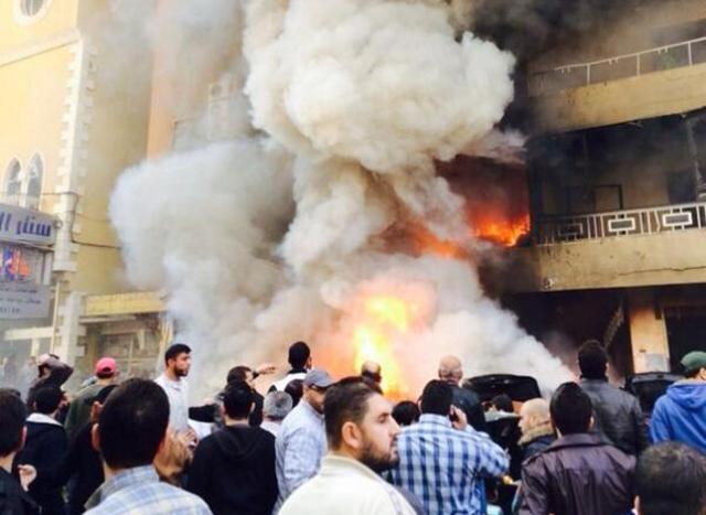انفجار نسبتا شدید در جنوب بیروت