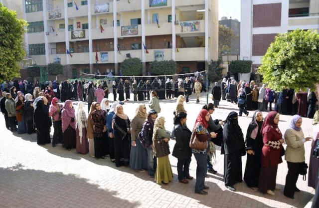 برگزاری همه پرسی قانون اساسی در مصر