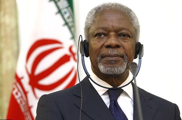 کوفی عنان: باید به تلاش ها ادامه داد که توافق هسته ای با ایران نهایی شود