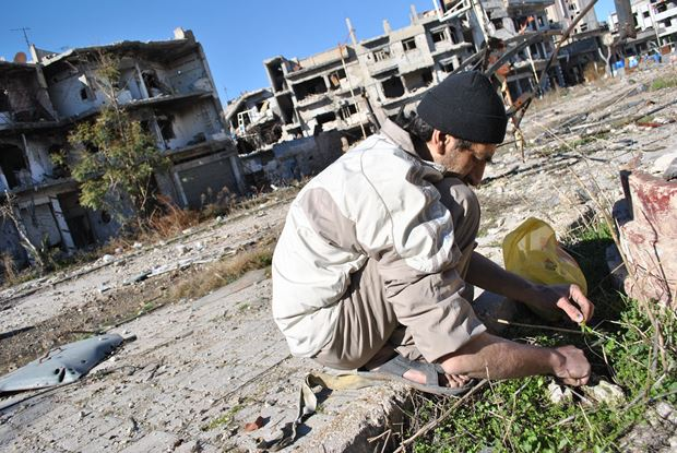 امدادرسانی به حمص در سوریه آغاز شد