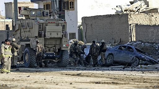 حمله انتحاری در شمال کابل
