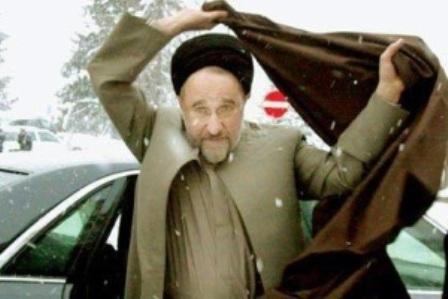 حضور محمد خاتمی در ۲۲ بهمن برای برخی سوژه شد
