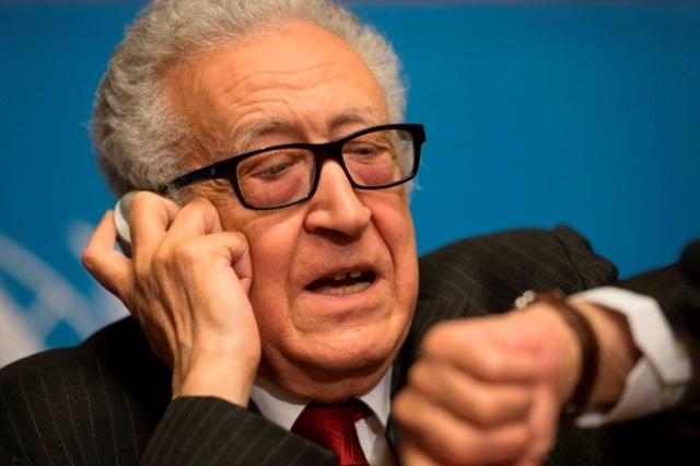 عذرخواهی اخضرابراهیمی به خاطر شکست مذاکرات صلح درباره سوریه