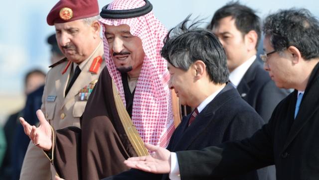 نگرانی ژاپن، آینده آن، و سفر شاهزاده سلمان بن عبدالعزیز ولیعهد عربستان سعودی