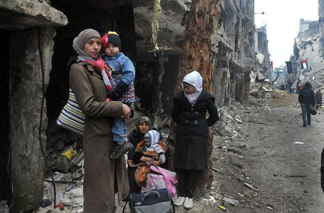 درگیری ها موجب توقف غذا رسانی به دمشق شد