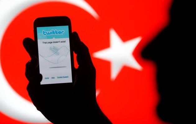 اردوغان علیه توئیتر
