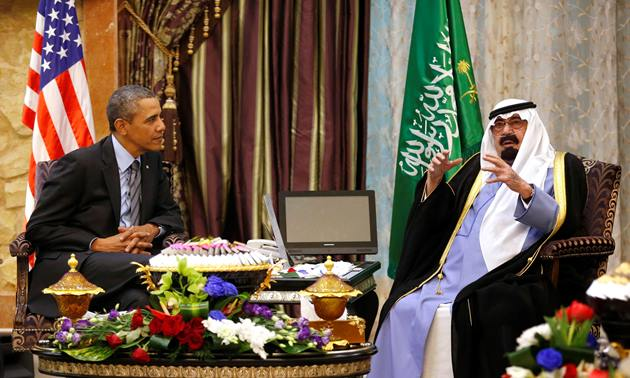 اوباما به دنبال تحکیم هم پیمانی آمریکا با پادشاهی عربستان سعودی