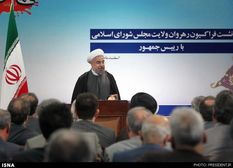 روحانی: تلاش میکنیم تورم در سال ۹۳ زیر ۲۵ درصد باشد