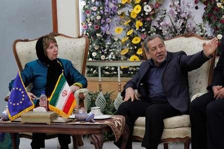 اشتون: اروپا خواستار ارتباط اقتصادی و فرهنگی با ایران است